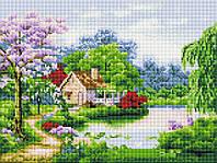 """Алмазная мозаика 30х40см """"Весна пришла"""" EF241"""