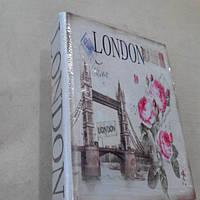 Книга-шкатулка Лондон средняя 19*14*4см