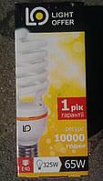Лампа энергосберегающая LightOffer 65W E40 5000K