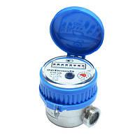 Счетчик холодной воды Gross ETR-UA mini 15/80 Ду 15 одноструйный квартирный короткий