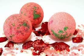 Бурлящие шарики для ванной ТМ Лавка мыльных сокровищ