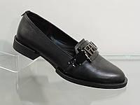 Стильные женские туфли кожаные натуральные