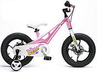 Детский велосипед 14 Royal Baby MG DINO розовый