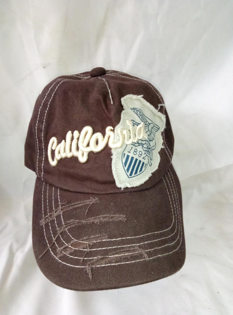 Бейсболка коттоновая CALIFORNIA