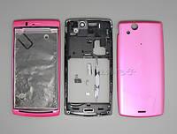Корпус Sony Ericsson LT15i/LT18i Xperia Arc, розовый, оригинал (Китай)
