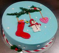 Торт на Новый Год под заказ в Днепре