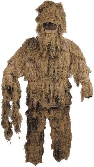 Костюм маскировочный M/L Ghillie Suit пустынный камуфляж MFH 07703Z