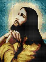 """Набор алмазной жывописи 30х40см """"Иисусова молитва"""" EF079"""