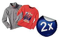 Гольф с регланом для мальчика, ( 2 шт. в упаковке ), размер 86/92(2шт), 98/104,Lupilu, арт. Л-568