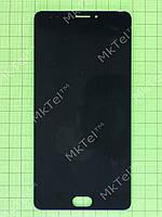 Дисплей Meizu M3 Max с сенсором Оригинал элем. Черный