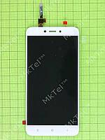 Дисплей Xiaomi Redmi 4X с сенсором Оригинал Китай Белый