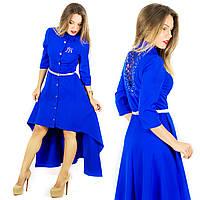 Платье электрик 15381