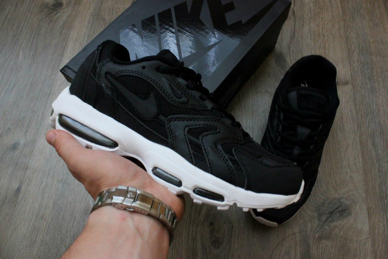 Кроссовки Nike Air Mx 96 XX Black/white. Живое фото! Топ качество (Реплика ААА+)