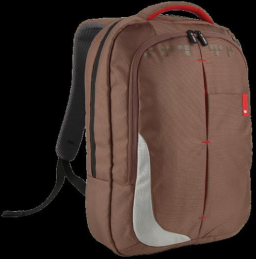 """Рюкзак для ноутбука 15,6"""" Crown Genuine, BPG-4415BN коричневый"""