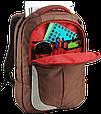 "Рюкзак для ноутбука 15,6"" Crown Genuine, BPG-4415BN коричневый, фото 5"