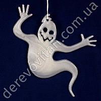 """Подвеска-декор на Хэллоуин светящаяся """"Привидение"""", 2 шт., 12×15 см"""