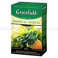 """Чай зеленый Greenfield """"Tropical Marvel"""" 100 гр Ананас"""
