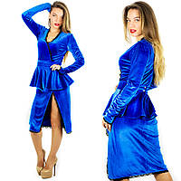 Платье электрик 152059