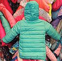 Куртка на девочку Еврозима флис+синтепон (4 размера) Мята, фото 2