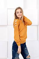 Женский свитер (46/52) Украина — купить оптом по дешевой цене со склада  1132