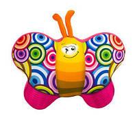 """Антистресова іграшка м`яконабивна """"SOFT TOYS 57 """"Метелик"""" рожевий, DT-ST-01-57"""