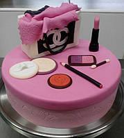 """Заказной торт """"Chanel"""" для девушки  в Днепре"""