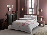 TAC евро комплект постельного белья ранфорс Alice pembe