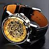 Механические часы Winner Skeleton (golden)