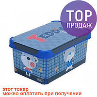 Короб для хранения Teddy 5л / товары для детской
