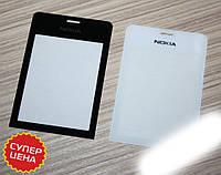 Стекло Nokia 515 Оригинал Чёрное/Белое Качество