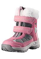Зимние ботинки для девочки Reimatec Kinos 569325-4320. Размеры 24 - 29, 33 - 35.