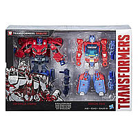 Трансформеры Делюкс Оптимус Прайм и Орион Пакс Transformers Deluxe Class Optimus Prime Autobot Legacy 2 Pack