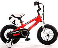 Детский велосипед 18 Royal Baby Freestyle Steel красный