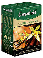 "Чай черный Greenfield  ""Vanilla Wave""  100гр Ваниль"