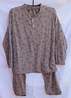 """Пижама мужская хлопковая на байке, размеры 46-52 Серии """" FIESTA """" купить оптом в Одессе на 7 км"""
