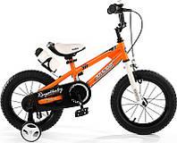 Детский велосипед 18 Royal Baby Freestyle Steel оранжевый