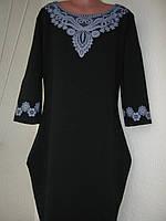 Плаття  святкове, чорне для дівчини (13-14 років)
