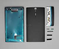 Корпус Sony LT26i Xperia S, черный, оригинал (Китай)