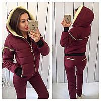 Женский тёплый зимний спортивный яркий костюм Pechka. Разные цвета, размеры.