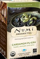 """Черный чай """"Пуэр с кардамоном"""" Numi"""