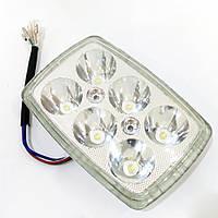 Фара Delta LED квадратная (вставка в фару) 18w яркий свет