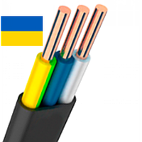 Кабель ВВГП-нг 3х1.5 Одесса ГОСТ