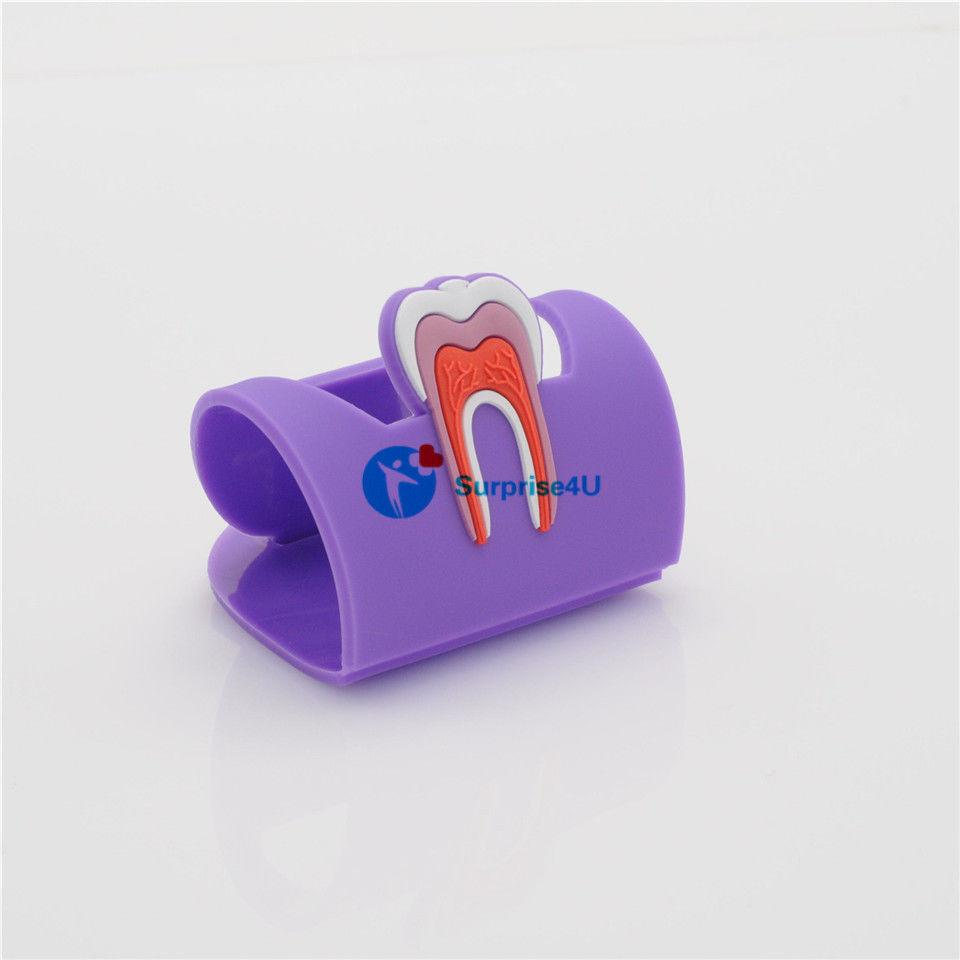 Подставка под визитки резиновая, фиолетовый