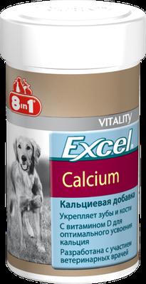 Кальций 8in1 Excel Calcium для собак таблетки 1700 шт
