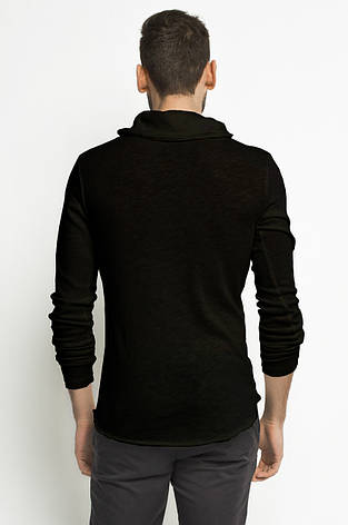 Кофта черного цвета с воротником хомутом Nilo от Solid (дания) в размере S, фото 2