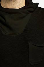 Кофта черного цвета с воротником хомутом Nilo от Solid (дания) в размере S, фото 3