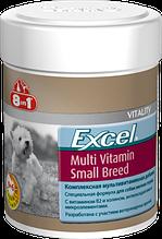 Мультивітамінний комплекс 8in1 для собак дрібних порід Excel Multi Vitamin Small Breed таблетки 70 шт.
