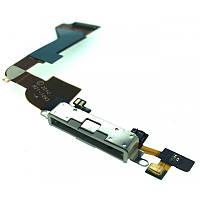 Шлейф iPhone 4 Charge + microphone white