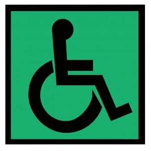 Наклейка Доступность для инвалидов всех категорий