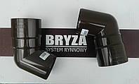 Коліно труби Bryza Бриза 90 мм/125 мм, Колено трубы Bryza